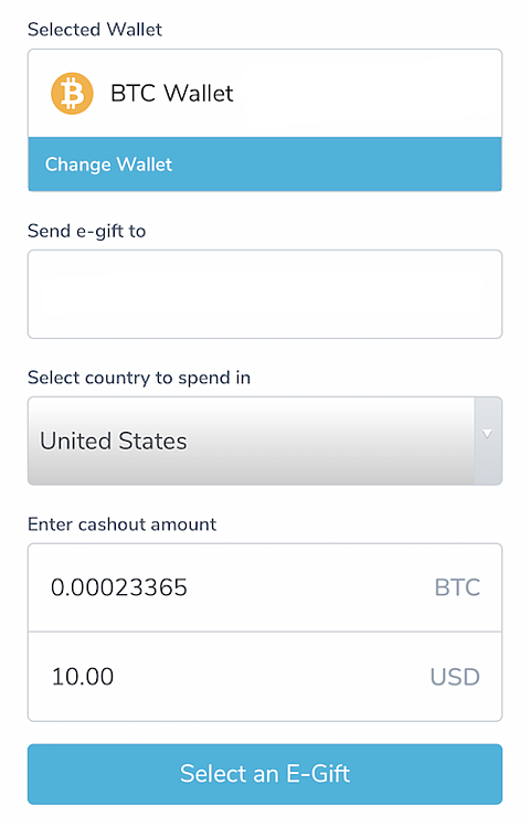 wegift coinbase buy gift cards with crypto example
